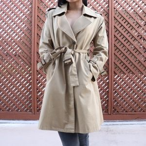 Spiral Girl Trench Coat